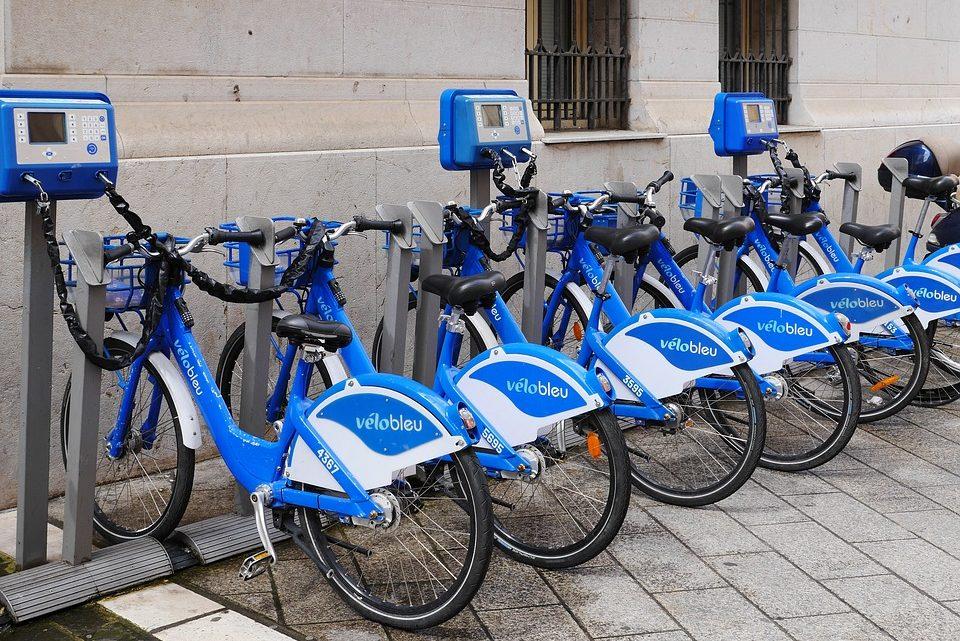 Comment louer un vélo bleu à Nice