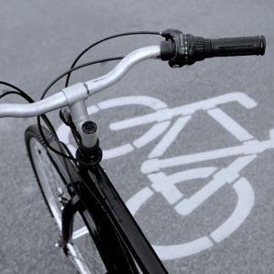 matérialiser une piste cyclable