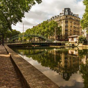 Les canaux de Paris