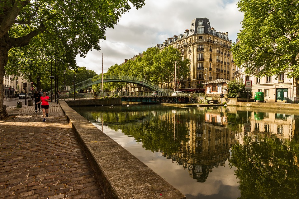 Les canaux à vélo à Paris
