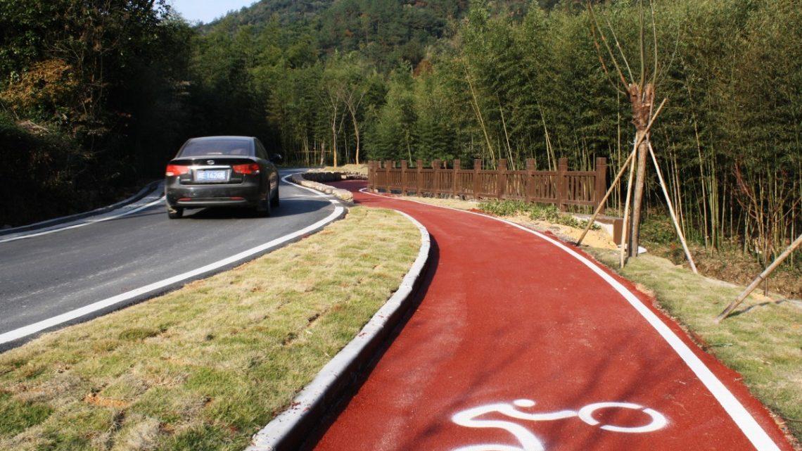 Peut-on faire une piste cyclable sur un trottoir ?