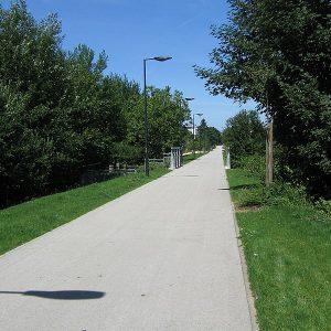 circuler sur une piste cyclable